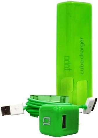 Green TABU Cube TP300GR USB Power Plug