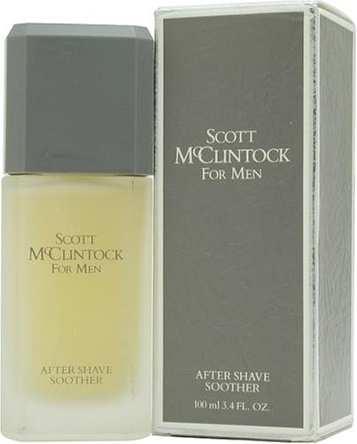 Scott Mc Clintock By Jessica Mc Clintock For Men. Aftershave Soother 3.4 Ounces