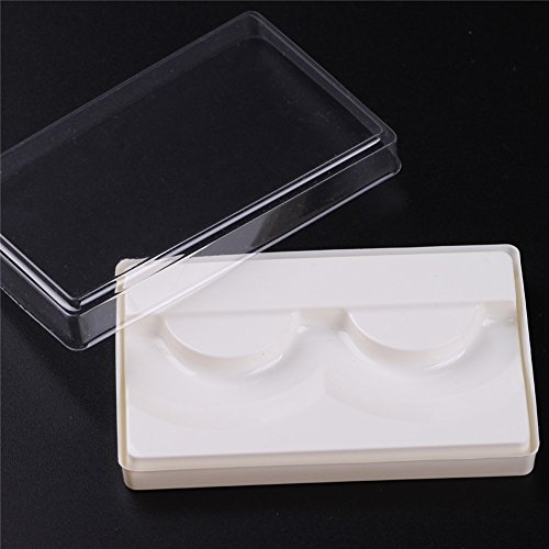 Empty Thicken Plastic False Eyelash Storage Case Box Container -
