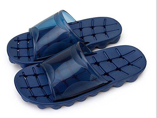 Maybest Unisex Donna Uomo Antiscivolo Bagno Doccia Famiglia Spiaggia Pantofole Sandalo Blu Profondo