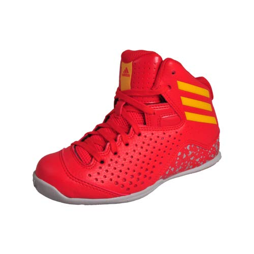 adidas Next Level Speed 4 NBA Junior Shoes Trainers Pumps Red/Gold/Grey 13k US