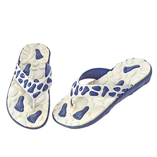 The New Fish Mouth Rome Men's Sandals(White) - 2