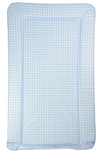 Blue Gingham Baby Changing Mat - Blue Gingham