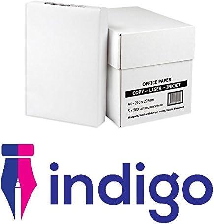Caja de papel blanco de oficina, A4, para impresora, copiadora, 5 ...