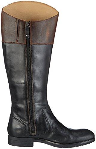 Black Nashoba Black Cognac Womens Cowboy Rider Lea Sebago Boots 5TqXwx