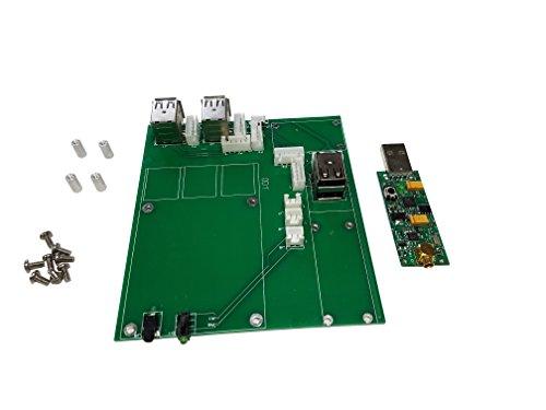 Multi-Application Raspberry PI Motherboard with 0 5PPM TCXO RTL-SDR for  Raspberry Pi B+ / Pi 2 / Pi 3, Receives ADS-B & FM+DAB/DVB-T Signals