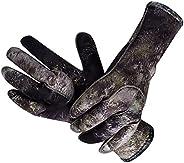 Camouflage Neoprene Gloves Keep Warm Anti-Skid Scuba Diving Gloves 3MM Neopren Swimming Spearfishing Gloves