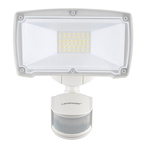 Lepower 2500lm motion sensor lights 28w led outdoor security lepower 2500lm motion sensor lights 28w led outdoor security light 6000k ip65 waterproof adjustable head flood light with 2 modes automatic and mozeypictures Choice Image