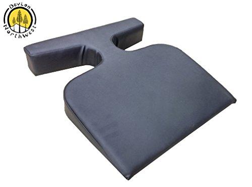 DevLon NorthWest Massage T Wedge Bolster Cushion Feminine Breast Pillow Color Black