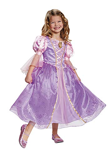 Rapunzel Prestige Disney Princess Tangled Costume, X-Small/3T-4T -