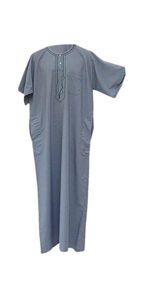 Desert Dress - Marokkanische Thobe Robe Arabisch Herren DishDash Jubba Bekleidung Betender