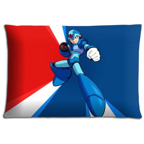 livingroom-pillow-cases-hypo-allergenic-mega-man-cotton-polyester-elegant-zippered-20x30-inch-50x76-
