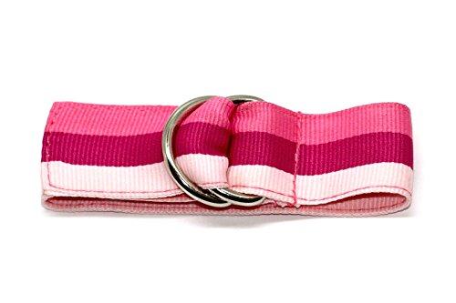 Striped One Piece Slip Thru Ribbon Watch Band Strap Bracelet (Ribbon Band Fashion Watch)