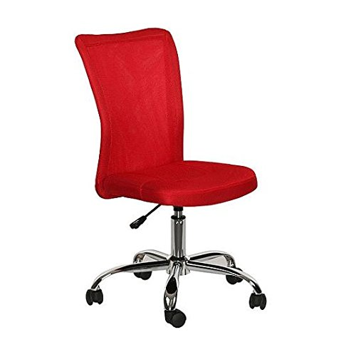 Mainstays Desk Chair, Multiple Colors (Red)