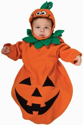 Rubie's Costume Baby Bunting, Pumpkin Costume, 1 to 9 Months -