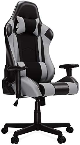 HEAO Gaming Chair Reclining Office Computer Chair Game Racing Chair Seat Height Adjustment Rotating Lifting armrest Recliner Swivel Rocker