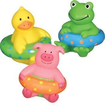 Squirting Bath Buddies Duck Frog