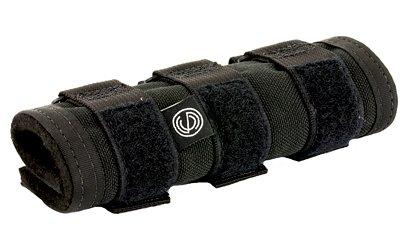 """SLNCO SCOAC1977 Scow Suppressor Cover 6"""" Black Gun Stock Accessories"""