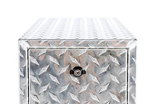 Dee Zee DZ95DA Aluminum Wheel Well Tool Box w/ ()