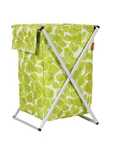WTL Storage basket Tissu d'Oxford Panier de linge sale Panier de vêtements sale Chambre de grande capacité pour incorporer le panier pliant de finition ( couleur : 5 )