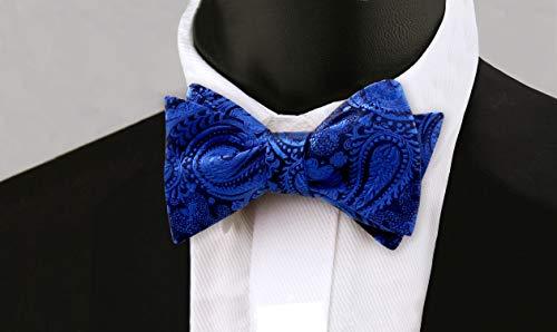blu uomo Papillon da scuro Alizeal WRqU8BYn8P