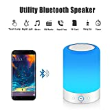 MRCOOL Night Light Bluetooth Speaker, Dimmable