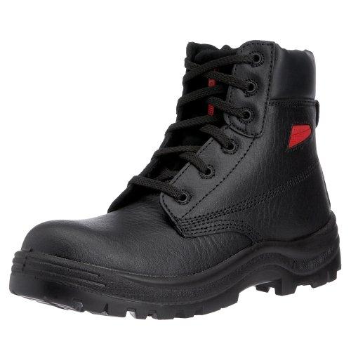 Sterling Safetywear - Calzado de protección de cuero para hombre Negro