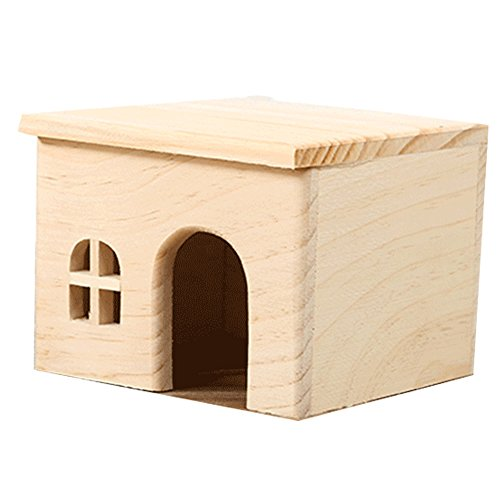 OMEM for Small Animals House Natural Life Tunnel System Such as Hamsters, Guinea Pigs, Golden Bears, Hedgehogs, Rabbits, Turtles, Easy to Clean (S)