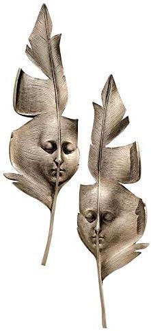 Design Toscano Aurora and Hespera Sculptural Wall Masks