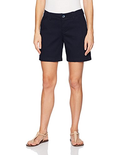 Vintage Blue Shopper - LEE Women's Straight Fit Tailored Chino Short, Twilight Denim, 16