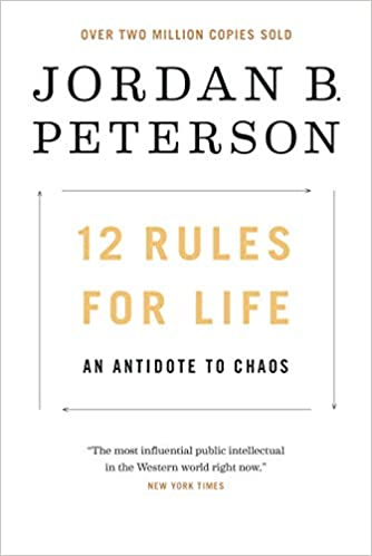amazon 12 rules for life an antidote to chaos jordan b
