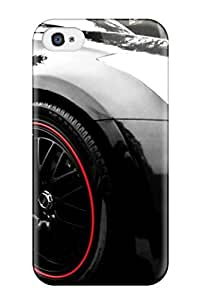 Top Quality Rugged Black Car Dekstop Case Cover For Iphone 4/4s