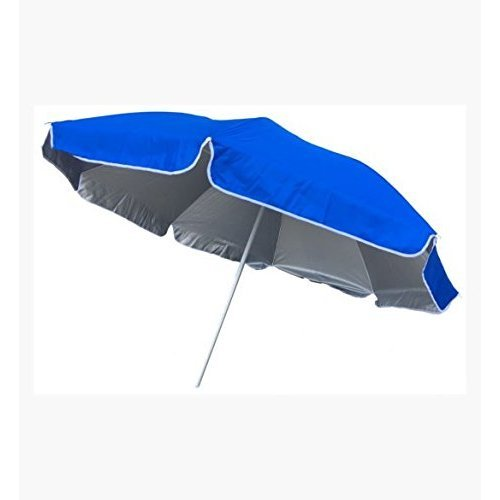 (Umbrella 5 Ft. Outdoor Blue | Perfect for The Beach, Backyard & Camping | Pointed End for Easy Penetration Into Sand Or Dirt )