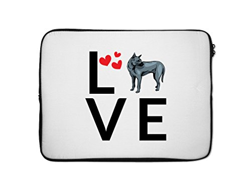 Style in Print PHU QUOC RIDGEBACK DOG Love Hearts Laptop ...