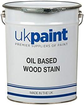 Tinte de madera de roble – satén – Base de aceite – 20 litros ...