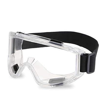 ENJOHOS Gafas protectoras trabajo Antivaho Hombre Tamaño Elipse Anti-arañazos Seguridad Cocina Laboratorio UV Velo MTB Motocicleta Esquí