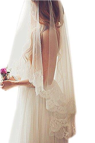 Lace Edge Wedding Veil - 7