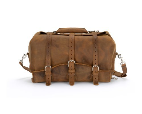 Saddleback Leather Waterbag - 100% Full Grain Leather Travel Duffel Bag (Saddleback Leather Bag)