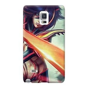 Samsung Galaxy Note 4 AmF29302bEiS Custom Colorful Ryuko Kill La Kill Pattern Protective Hard Cell-phone Cases -IanJoeyPatricia