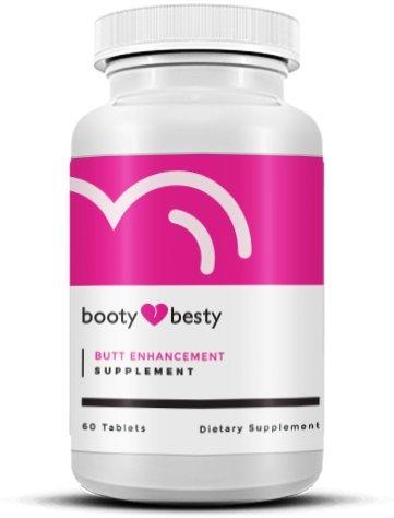 Butt Enhancement Pills - Booty Besty The Scientifically Formulated Top Rated Butt Enhancement and Butt Enlargement Pills -