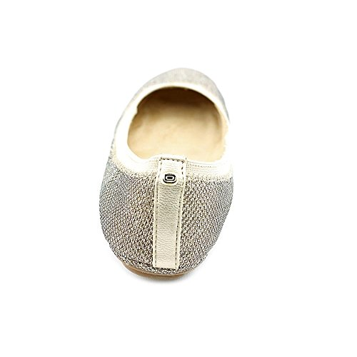 Bandolino Mujeres Edition Fabric Ballet Flat Gold Multi Fabric