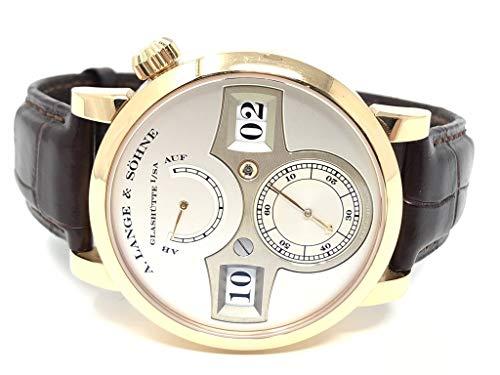 A. Lange & Sohne Zeitwerk Silver Dial 18KT Rose Gold 140.032 - Certified Pre-Owned