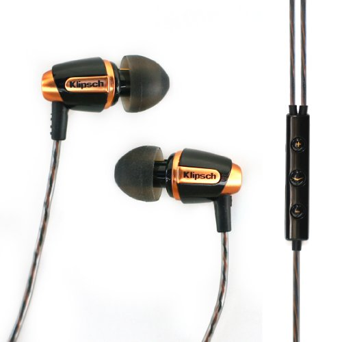- Klipsch Reference S4i Premium In-Ear Noise-Isolating Headphones with Microphone (Black) (Discontinued by Manufacturer)