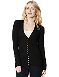 ClothingAve..... Women's Snap Button Sweater Cardigan...