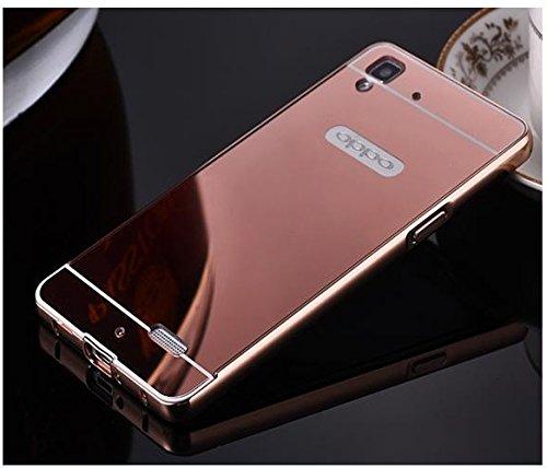 Ae Luxury Metal Bumper Acrylic Mirror Back Cover Amazonin