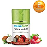 Mamaearth Natural Lip Balm For Women With Shea Butter & Strawberry, 4.5 Gm