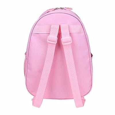 TiaoBug Girls Ballet Backpack Gym Dance Bag Embroidered School Shoulder Bag Pink One Size: Clothing