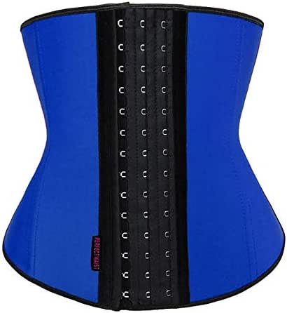 DILANNI Womens Latex Waist Trainer Corset for Weight Loss Hourglass Body Shaper
