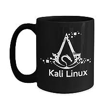 Linux Mug - Kali Linux Mug Black