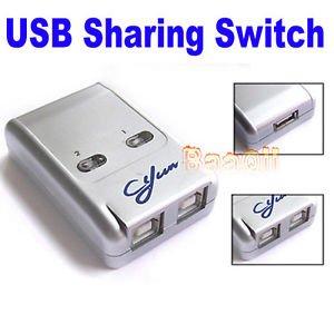 2 puertos USB 2.0 Sharing Switch Conmutador Selector Hub ...